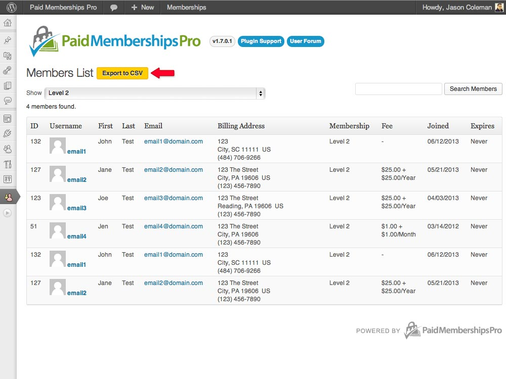 Wordpress Membership Plugin Get Paid With Paid