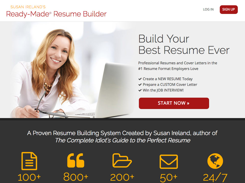 Susan Ireland's Ready-Made® Resume Builder