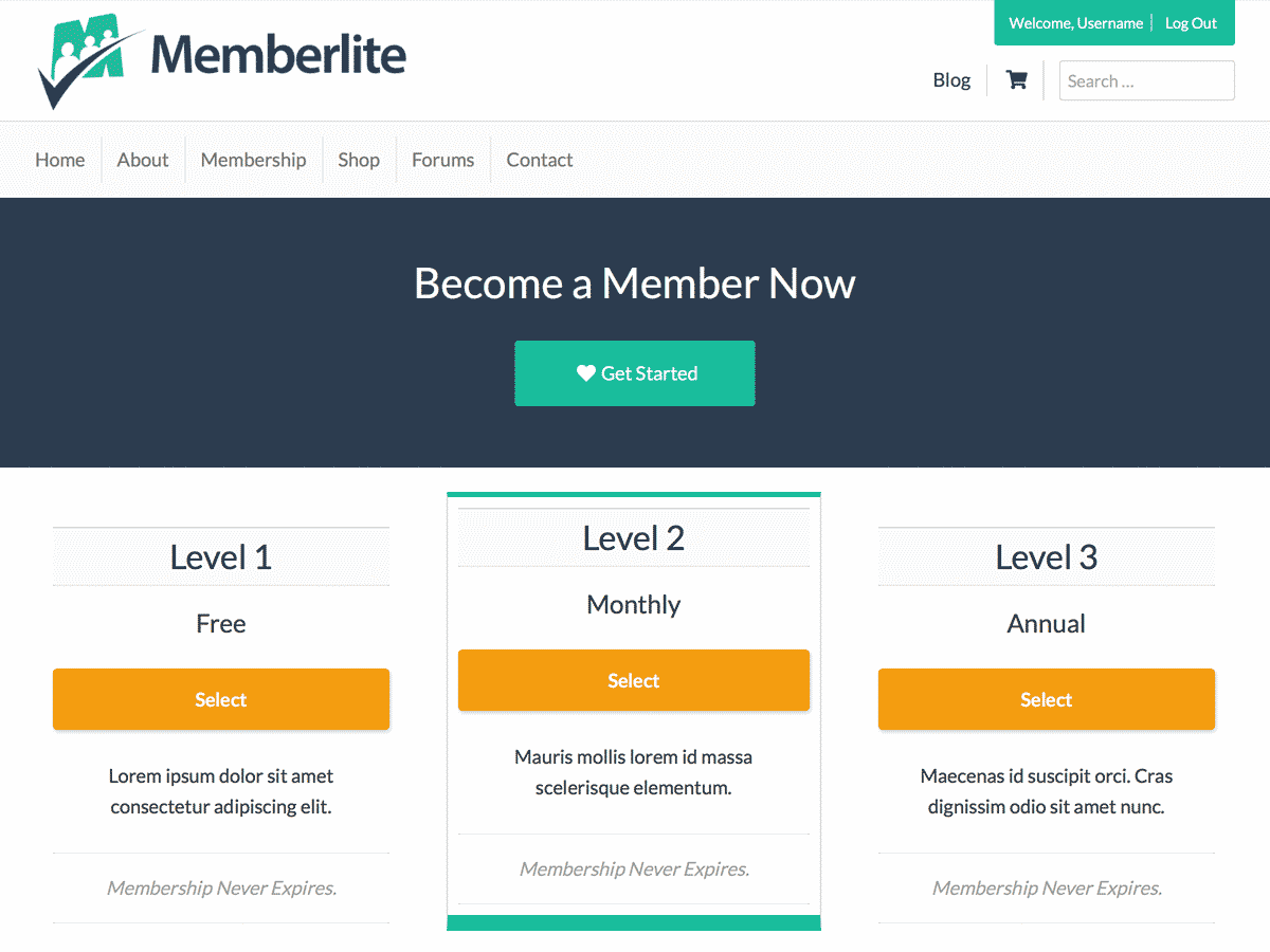 wordpress membership plugin get paid with paid memberships pro