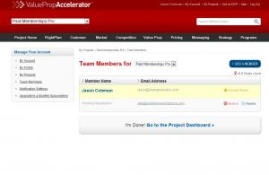 Sponsored Team Members