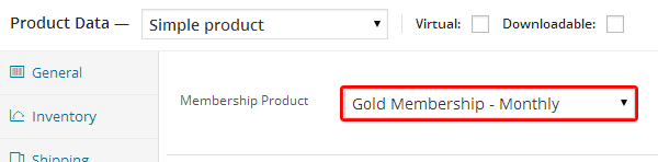 Membership Product