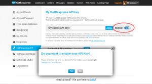 Enable API Key