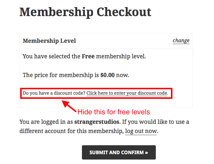 pmpro_hide-discount-code-free-level