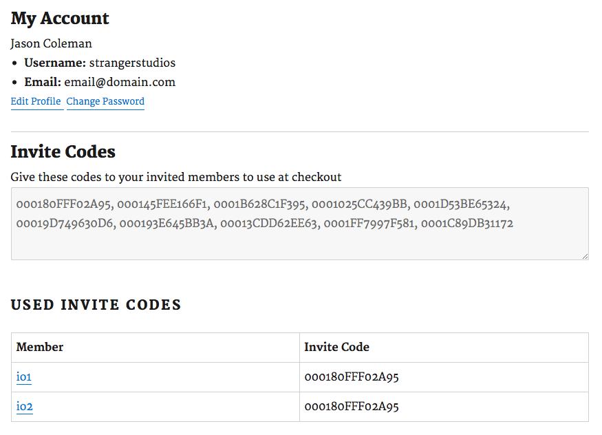 Invite Only Membership WordPress Membership Plugin