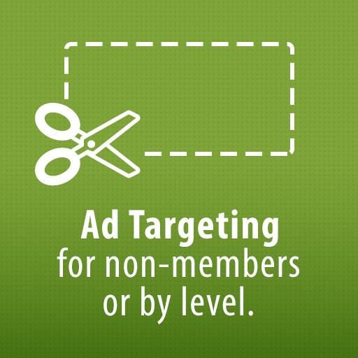 Ad Targeting for non-members or by level