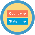 Icon for State Dropdown Add On Plugin