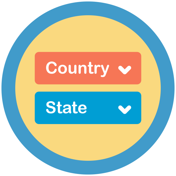 State Dropdowns Add On