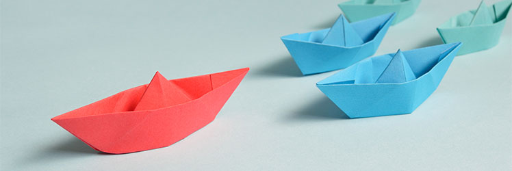 Origami Paper Boats