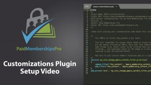 Video: Setting up a Customizations Plugin