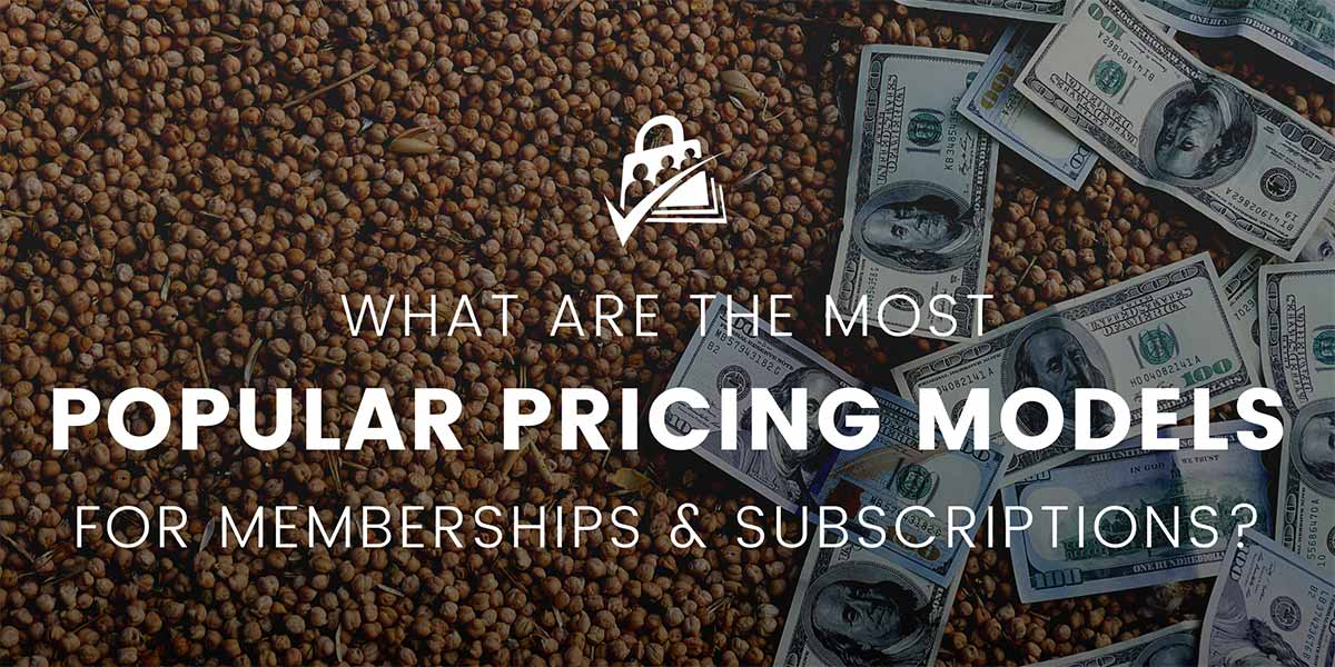Banner graphic for the 10 Most Popular Pricing Models for Membership and Subscription Sites