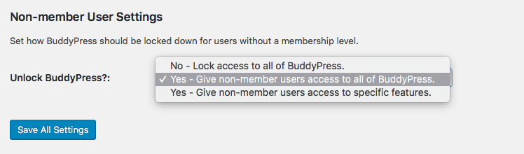 Restrict BuddyPress for Non-Members with Paid Memberships Pro WordPress Plugin