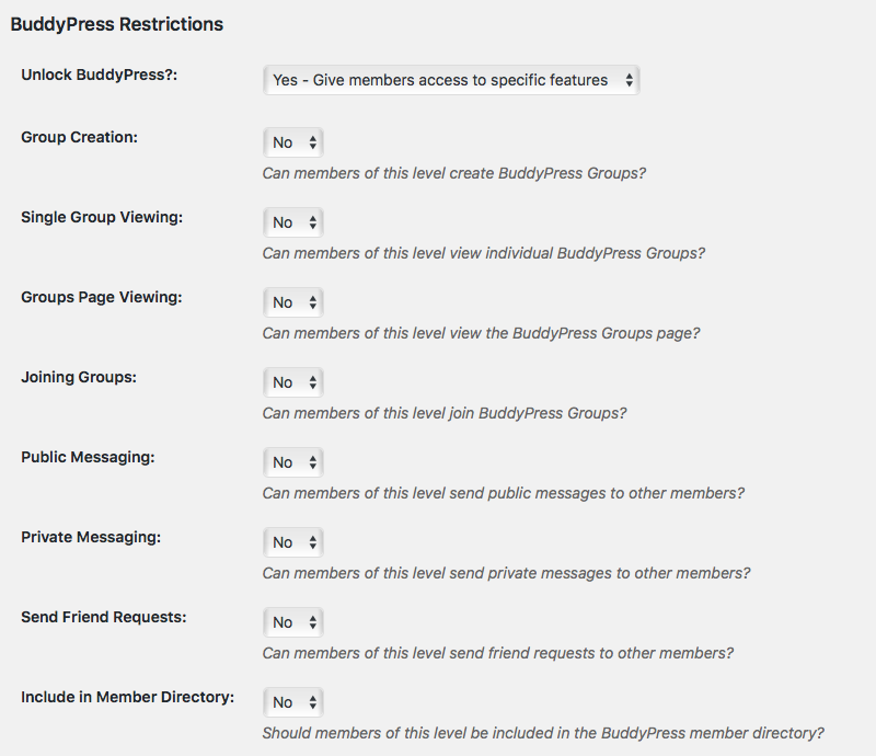 New BuddyPress Integration for Membership Communities using Paid