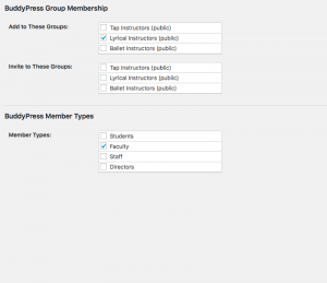Assign Users to Member Groups or Member Types by Membership Level