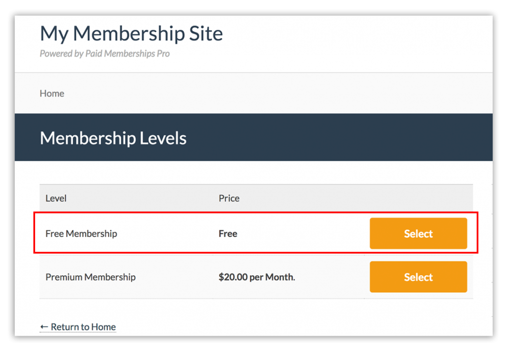 membership-level-page