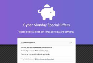 Sitewide Sale: Gradient Landing Page