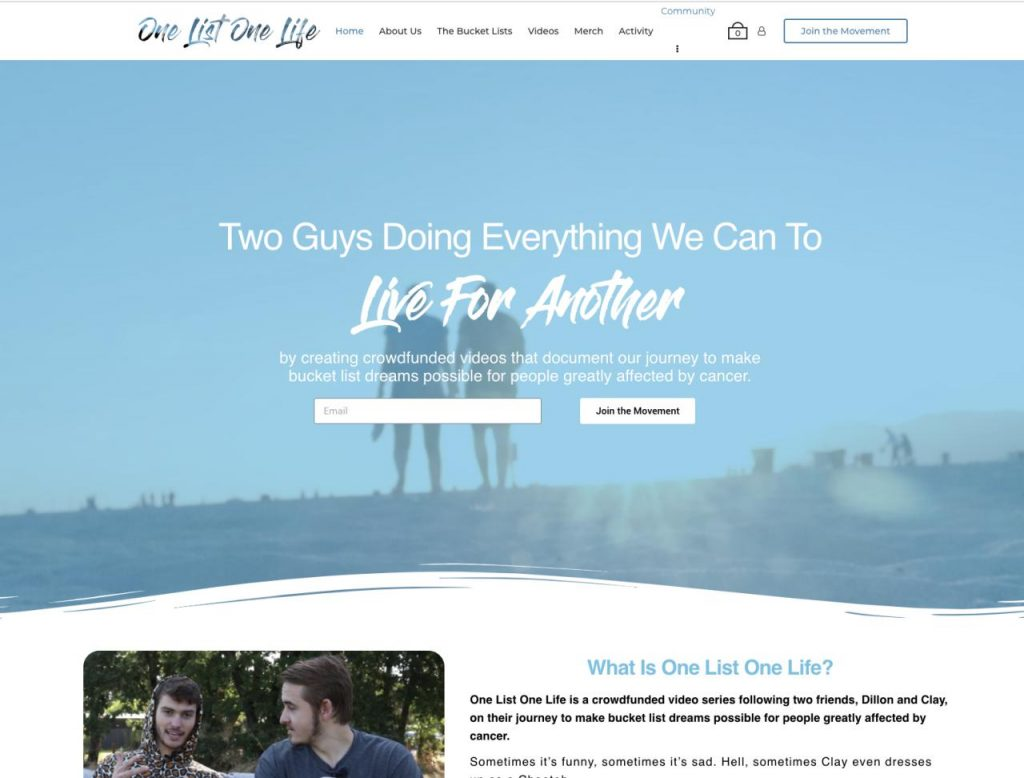 One List One Life - Paid Memberships Pro