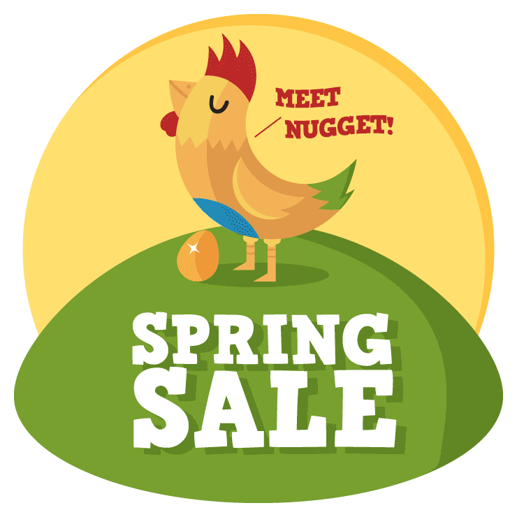 Spring Sale - Meet Nugget!
