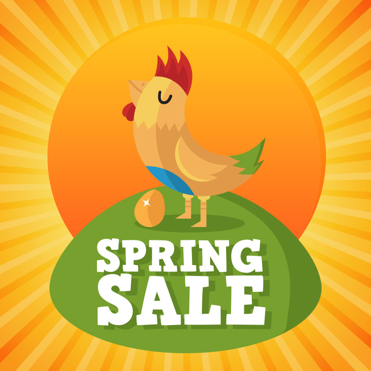 Spring Sale: Limited Time Offer to Save over 30%