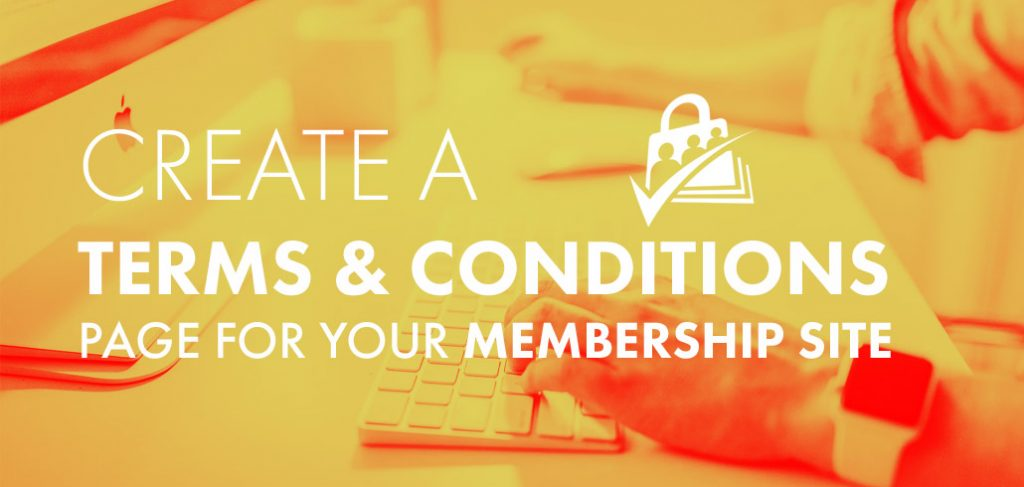 Terms and Conditions Paid Memberships Pro
