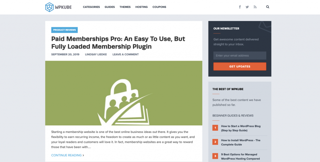 WpKube | Paid Memberships Pro Review