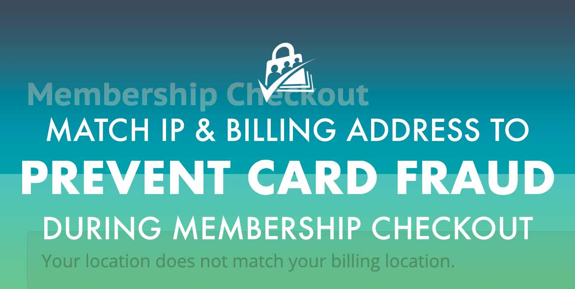 Match IP and Billing Address to Prevent Card Fraud