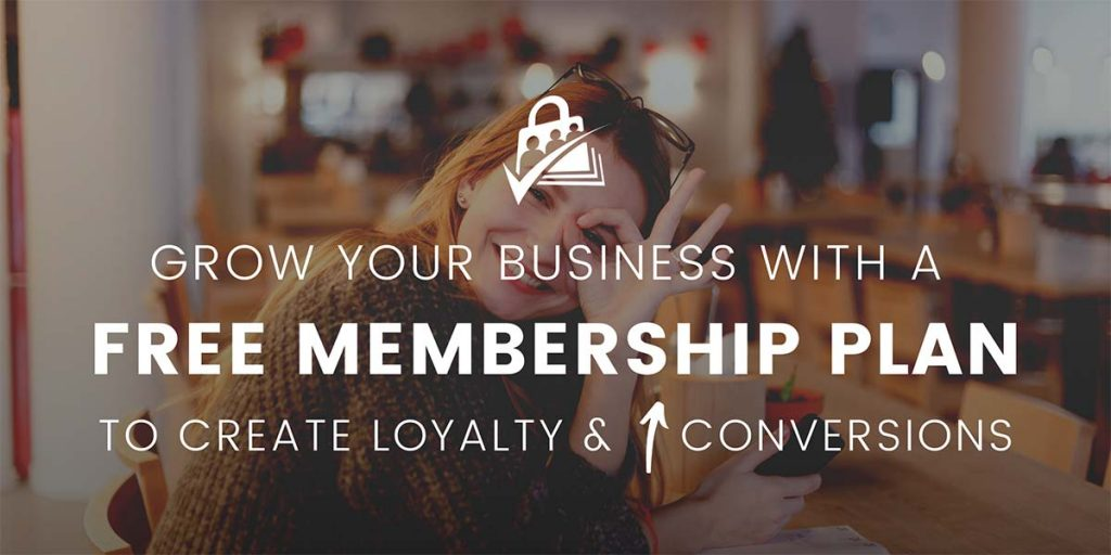 Banner for Grow your business with a free membership plan to increase conversions