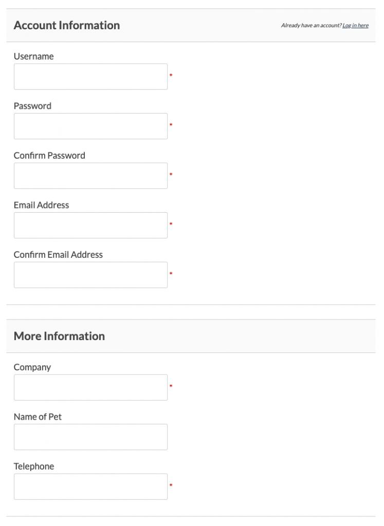 Paid Memberships Pro Custom Fields