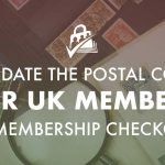 Banner for Validate the Postal Code for UK Members at Membership Checkout