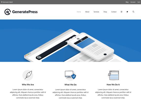 GeneratePress by Tom