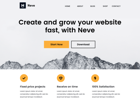 Neve by themeisle