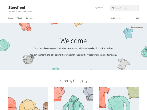 Storefront by Automattic
