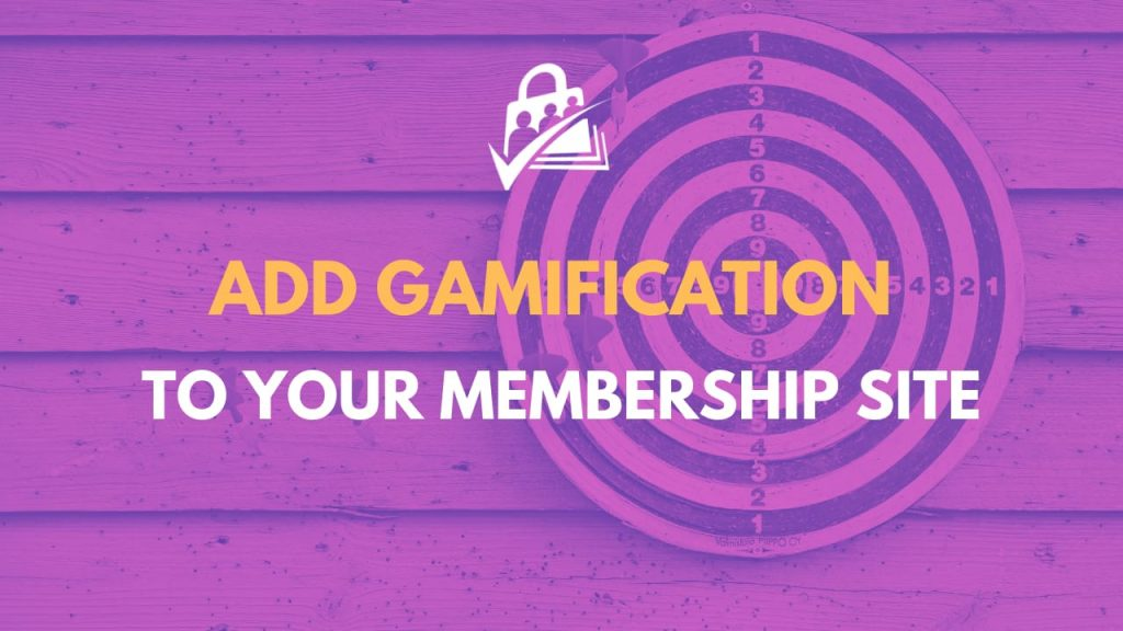Add gamification to your membership site