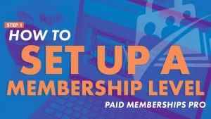 Video banner for How to set up your membership levels