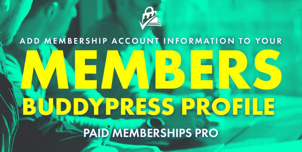 membership account buddypress