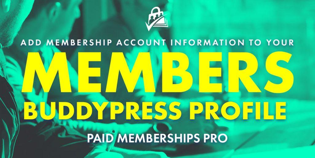 membership account buddypress
