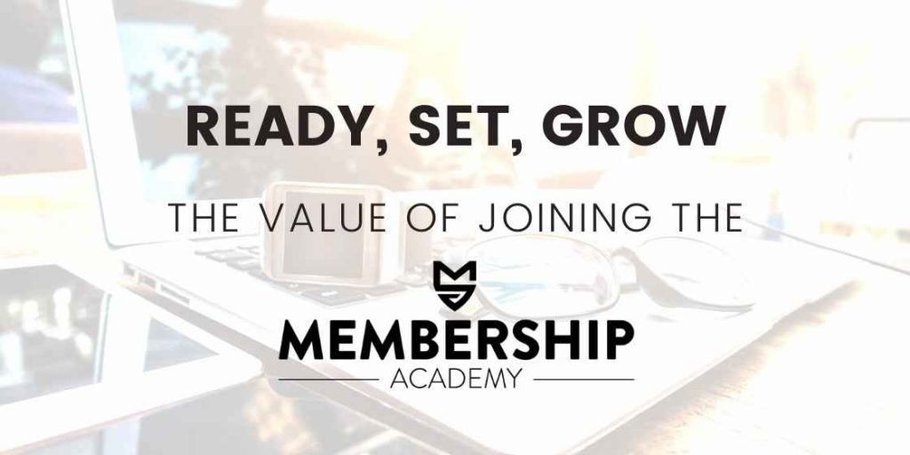 Banner graphic for Value of the Membership Academy