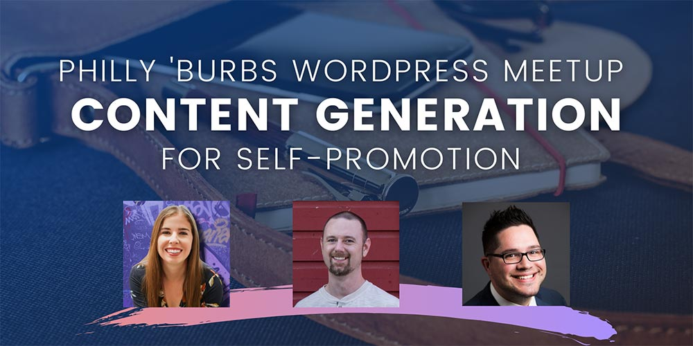 Banner for Content Generation for Self-Promotion Blog Post