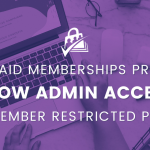 allow member only access to member only posts