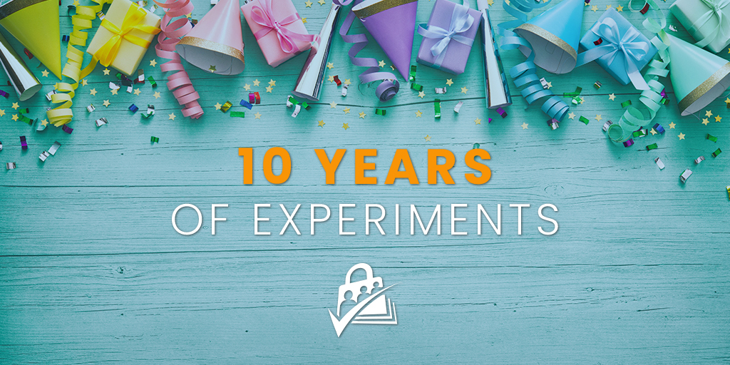 10 Years of Experiments
