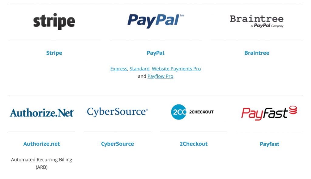 Paid Memberships Pro offers six payment methods, so the PayPal rate increase doesn't have to bleed you dry.